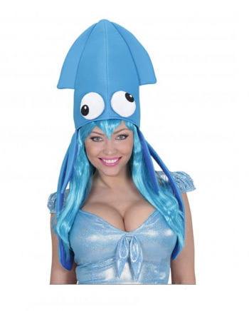 Tintenfisch Mütze Blau