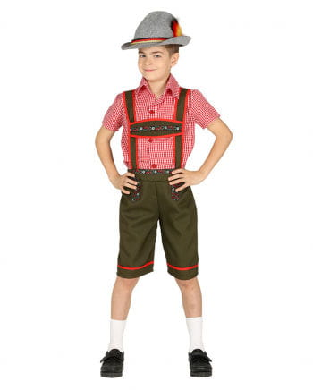 Tyrolean Boy Costume For Children