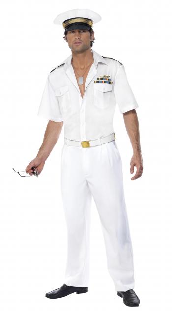 Top Gun Kapitäns Costume For Men