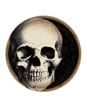 Skull Boneyard Pappteller 10 St.