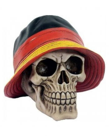 Skull With Germany Hat