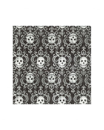 Skull Pattern Napkins 20 Pieces