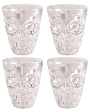 Skull Shotglas 4 Pieces
