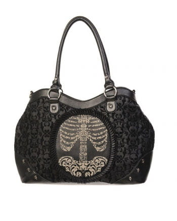 Skull handbag with Cameo Skeleton