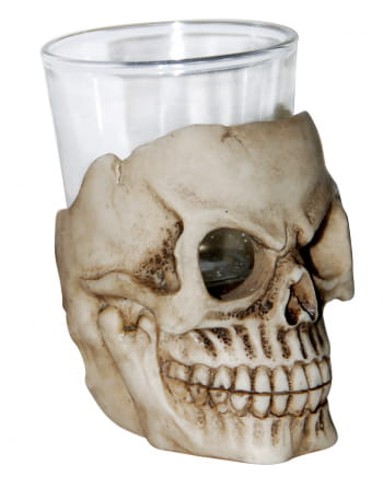 Totenschädel Schnapsglas 7 cm
