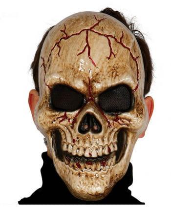 Totenschädel der Finsternis Halbmaske