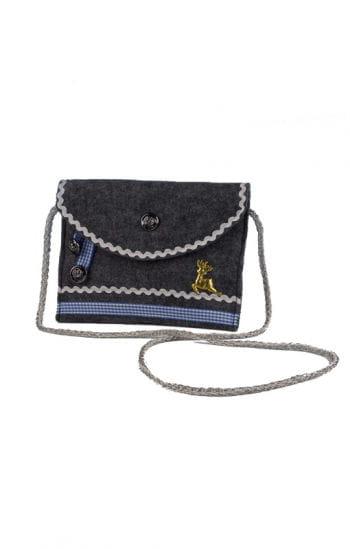 Trachten Tasche Premium grau