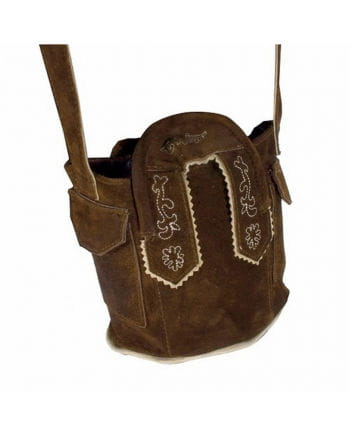 Costumes leather bag light brown