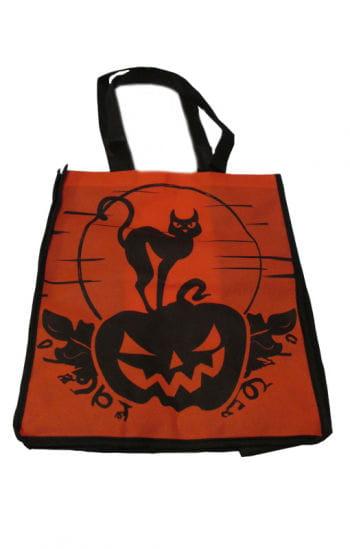 Trick or Treat Bag Cat / Pumpkin