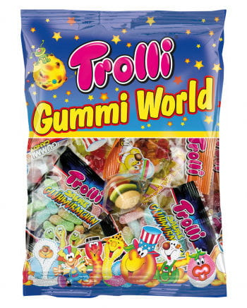 Trolli Gummi World Süßigkeiten Mix 230g