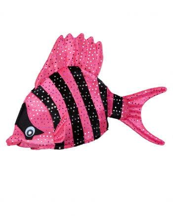 Tropical Fish Hat Pink