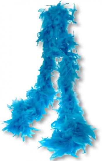 Turquoise Feather Boa