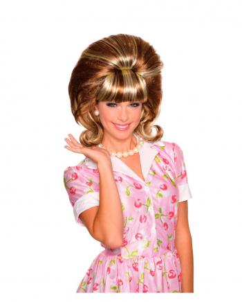 Extravagante Miss Conception Perücke Rot-Blond