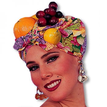 Früchtekopftuch Tutti Frutti