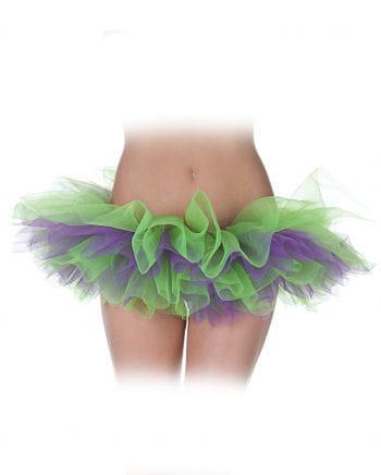 Ballet Tutu Green / Purple