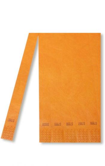 TYSTAR Einlassbänder orange 100 Stück