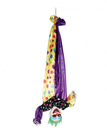 Überkopf Hängender Killer Clown Animatronic