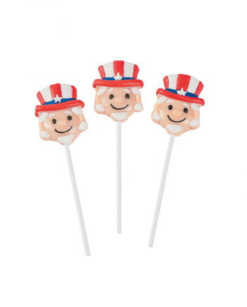 Uncle Sam lollipop