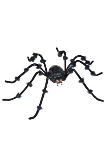 Eerie glowing giant spider