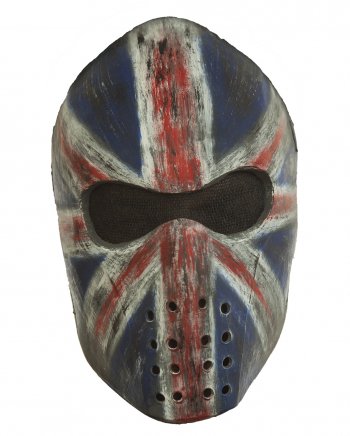 Union Jack Hockey Mask
