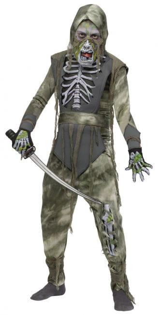 Ninja Zombie Kinderkostüm