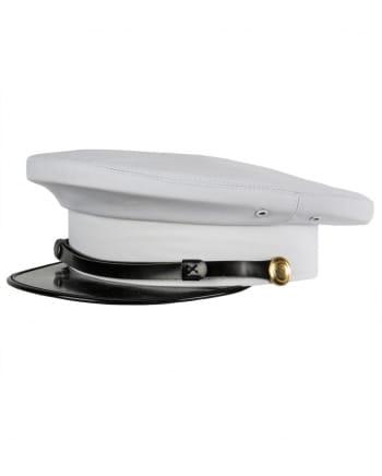 Weiße US Marine Offizier Mütze