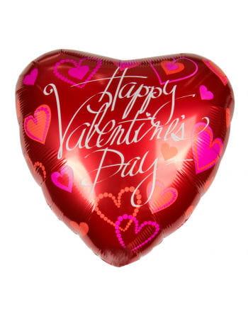 Perfekt Folienballon Mit Valentinstagsgruß