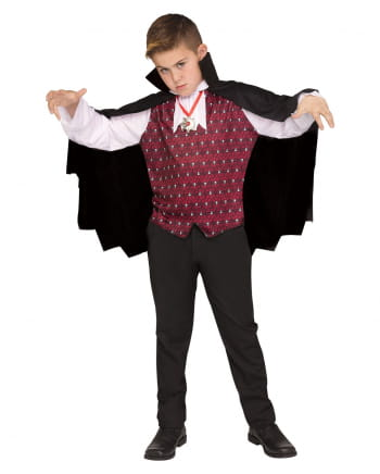 Vampire cape with vest for children