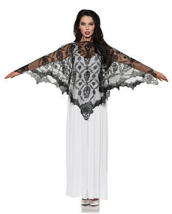 Vampiress Lace Poncho