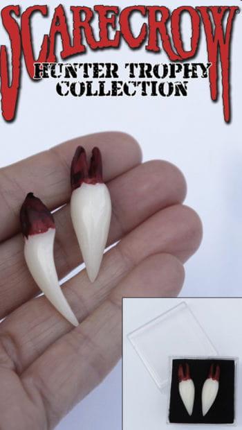 Vampire hunter trophies teeth