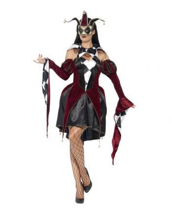 Venedig Damen Harlekin Kostüm