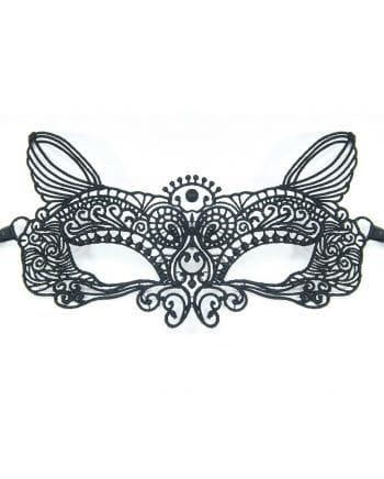 Venezianische Katzenmaske aus Stoff