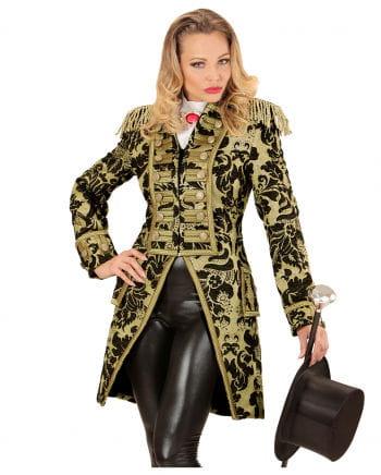 Gold-schwarzer venezianischer Damenfrack