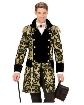 Venetian tuxedo black and gold