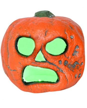 Spooky Halloween Kürbis mit LED 20 cm