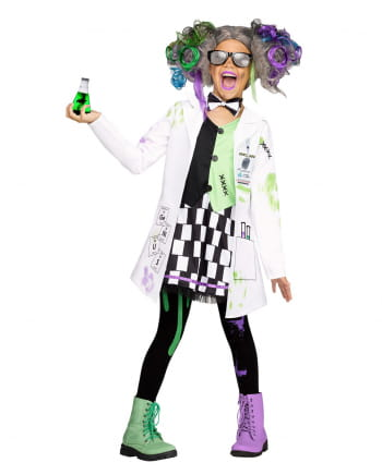 Crazy Scientist Girl Costume