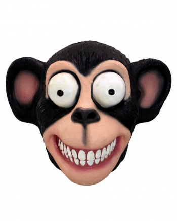 Crazy Chimpanzee Latex Mask