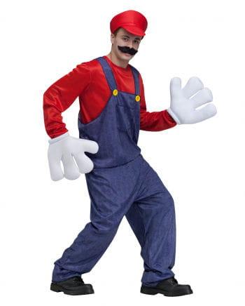 Kostüm Videospiel Klempner 1