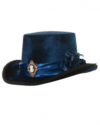 Victorian Ladies Hat With Cameo