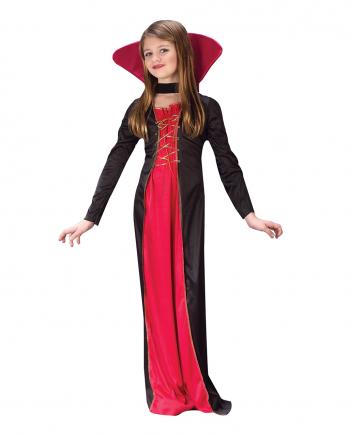Viktorianisches Vampirkostüm für Mädchen