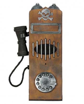 Vintage Halloween Phone With Light & Sound