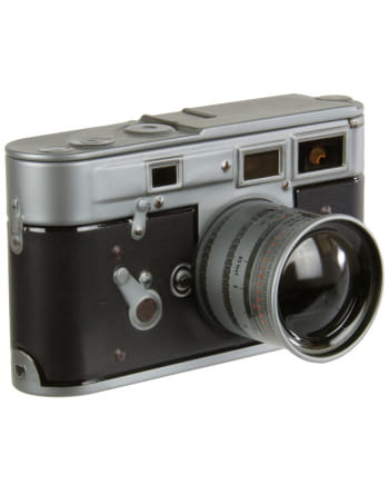 Nostalgie Blechdose Kamera