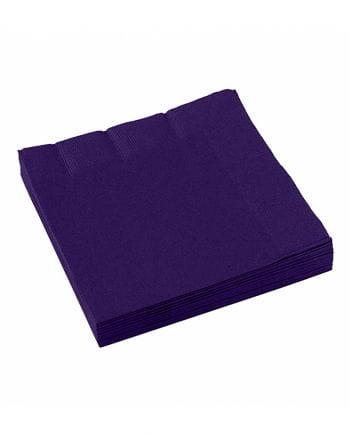Violette Papierservietten 20 St.