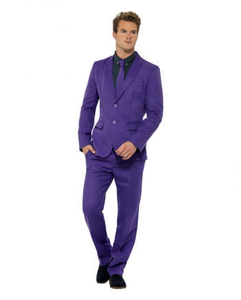 Herren Anzug lila