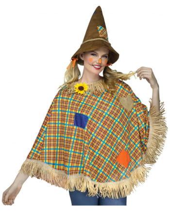 Scarecrow costume poncho