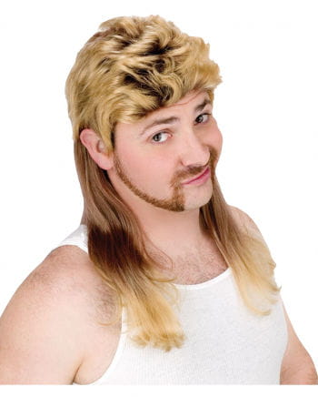 Vokuhila Herren Perücke blond