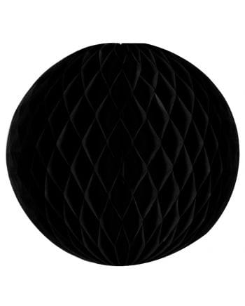 Schwarzer Wabenball 30 cm