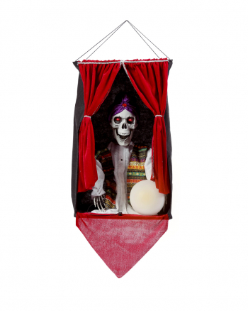 Soothsayer Skeleton Hanging Figure With Light, Sound & Movement