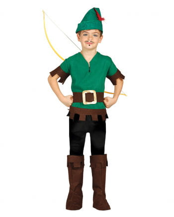 Waldbandit Children's Costume