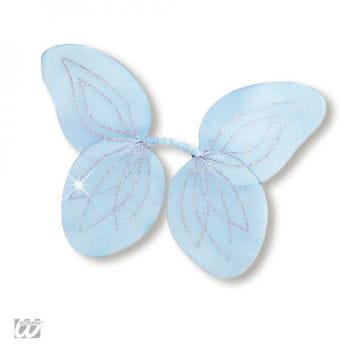 Waldfeen Flügel für Kinder blau